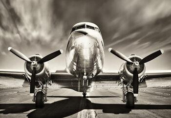 Plakat Aeroplane - Monochromatic