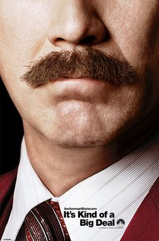 ANCHORMAN 2 - teaser Plakat