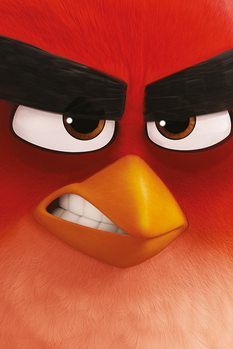 Angry Birds - Red Plakat
