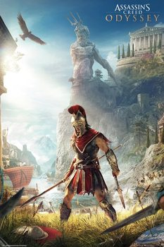 Assassins Creed Odyssey - Keyart Plakat