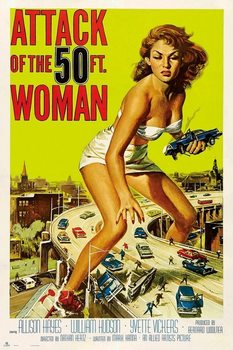 Attack Of The 50Th Woman Plakat