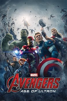Avengers: Age Of Ultron - One Sheet Plakat