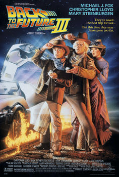 Back To The Future III Plakat
