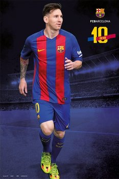 Barcelona 2016/2017 - Lionel Messi Plakat