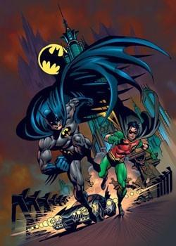 Batman & robin Plakat