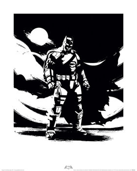 Batman V Superman - Batman Noir Kunsttryk