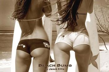 Beach bums - by jason ellis Plakat