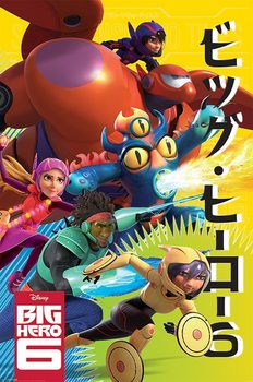 Big Hero 6 - Wild Plakat