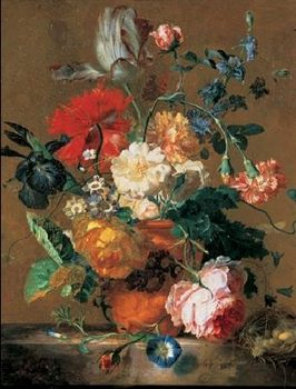 Bouquet of Flowers Kunsttryk