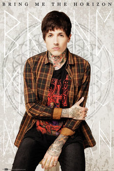 Bring me the horizon - oli Plakat