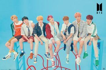 Plakat BTS - Blue