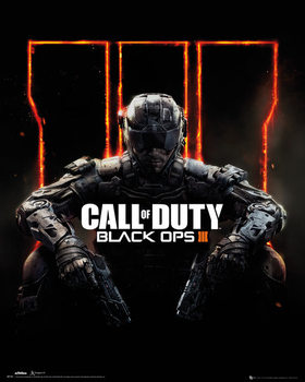 Call Of Duty: Black Ops 3 - cover Plakat