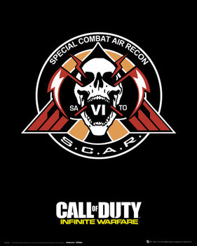 Call Of Duty: Infinite Warfare - Scar Plakat