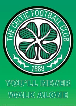 Celtic - club crest Plakat