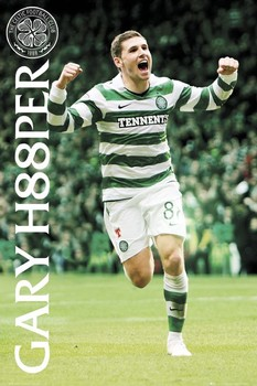 Celtic - gary hooper 2010/2011 Plakat