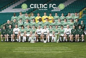 Celtic - Team photo 07/08 Plakat