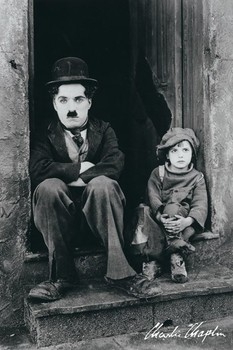 Charlie Chaplin - doorway Plakater