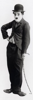 Charlie Chaplin - tramp Plakat