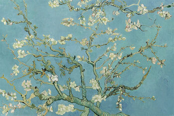 Plakat Claude Monet - Almond Blossom