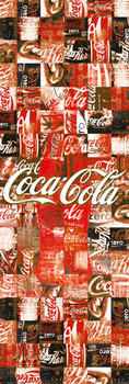 Coca Cola - patchwork Plakat