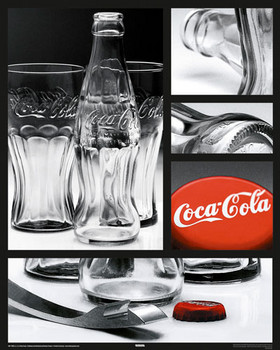 Coca Cola - photo compilation Plakat