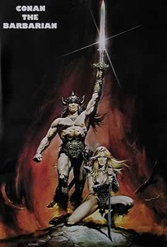 CONAN THE BARBARIAN  Plakat