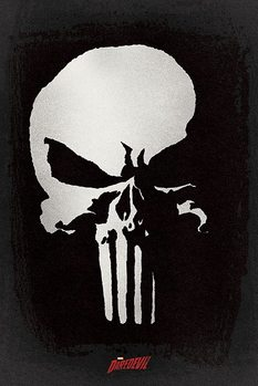 Daredevil - Punisher Plakat