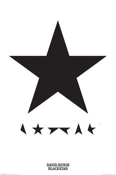 David Bowie - Blackstar Plakat