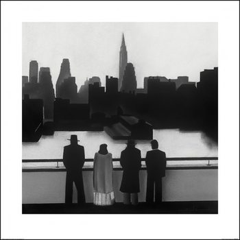David Cowden - Skyline Kunsttryk