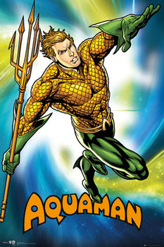 DC Comics - Aquaman Plakat