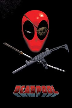 Deadpool - Eye Patch Plakat