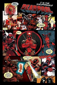 Deadpool - Panels Plakat