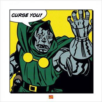 Dr. Doom - Curse You Kunsttryk