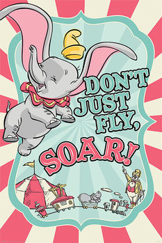Dumbo - Circus Plakat