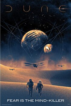Plakat Dune - Fear is the mind-killer