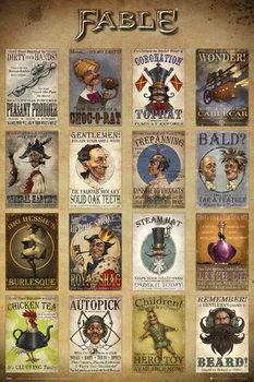 Fable - Adverts Plakat