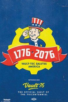 Fallout 76 - Tricentennial Plakat