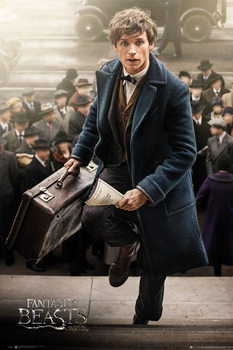 Fantastic Beasts And Where To Find Them - New York Scamander Plakat