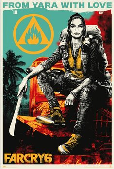 Plakat Far Cry 6 - From Yara With Love