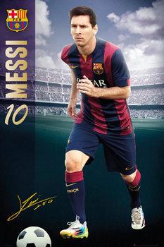 FC Barcelona - Messi 14/15 Plakat
