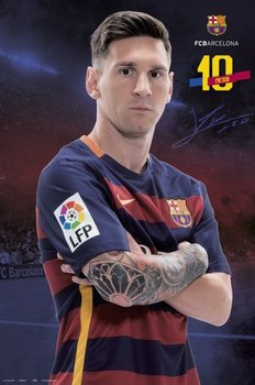 FC Barcelona - Messi Pose 2015/2016 Plakater