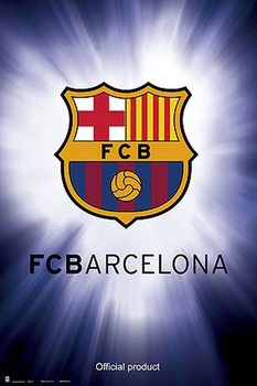 FC Barcelona - Symbol Plakat