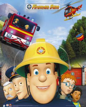Fireman Sam Plakat