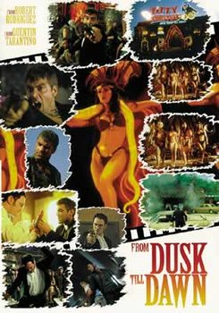 From Dusk Till Dawn - Collage 1 (woman) Plakat