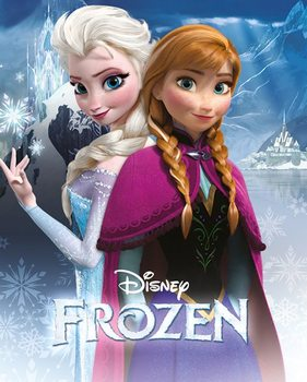 Frost - Anna and Elsa Plakat