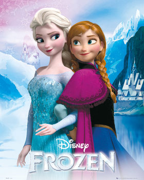 Frost - Elsa and Anna Plakat