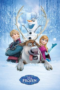 Frozen - Snow Group Plakat