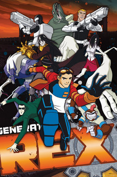 GENERATOR REX - group Plakat