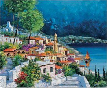 Gianola - cala azzurra Kunsttryk