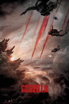 GODZILLA - Skydive Plakat